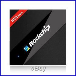 Nice Smart TV Box 4K Daul Wifi H96 MAX RK3399 2G+16G/4G+32G Android6.0 Quad core