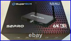 OPEN BOX / FULL WARRANTY Superbox Super Box S2Pro S2 Pro TV Streamer