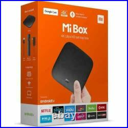 Original Xiaomi Mi Box 4k Ultra HDR TV Streaming Media Player With Voice