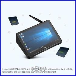PIPO X10 Pro Windows 10 Android Mini PC TV Box 4G/64G Intel Z8350 Quad Core WiFi