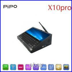 PIPO X10 Pro Windows 10 Smart Mini PC TV Box 4GB/64GB Intel Z8350 Quad Core