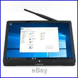 elegant pipo x10 mini pc windows 10 full hd 10 8 inch 4gb 64gb bluetooth rj45 tv box battery with fully charged