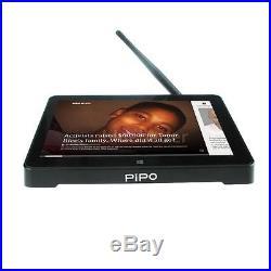 PIPO X8 Quad Core Android 4.4 Windows 8.1 Smart TV Box WiFi 32GB HD Mini PC US