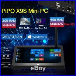 PiPO X9S Z8350 32G/64G Windows/Android Quad Core Smart TV BOX WIFI Tablet