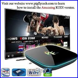 Pigflytech PFQ Q-10 Android TV Box and Game Player Quad Core 2GB 16GB 4K S905