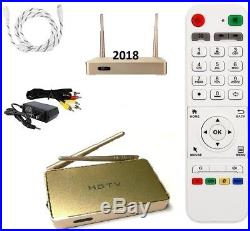 Powerful 2019 HDTV Arabic TV Box, hundreds of Channels+ wifi, Free Shipping