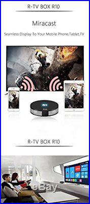 R-TV BOX R10 4G DDR4 RAM 64G ROM Rockchip RK3328 Android 7.1.2 Quad-Core 4K UHD