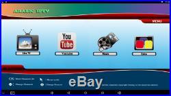 RED Arabic IPTV 1080p Android TV Box HDTV +2 year WiFi Internet Quad Core 2G/16G