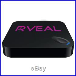 Rveal 1 Streaming Media Player & Android Smart TV Box with Air Mouse Remote