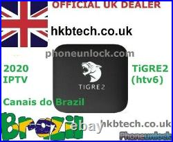 SEPT Offer TIGRE V2 IPTV Brazilian Portuguese Internet Streaming Android TV Box
