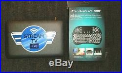 STREAM ONE TV -1YEAR FREE TECH SUPPORT. Newest box on the market