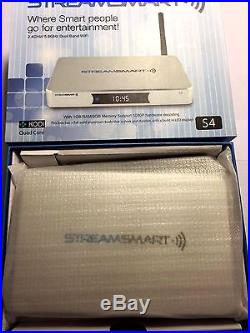 STREAMSMART S4 QUAD CORE SMART ANDROID HD TV BOX RECEIVER KODI XBMC- U. S Seller