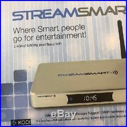 STREAMSMART S4 plus TV Box-Kodi, Powerful Quad-Core Android 4.4