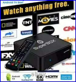 SUPERBOX S1 PRO 6K ANDROID TV BUY FROM SUPERBOX USA with Warranty