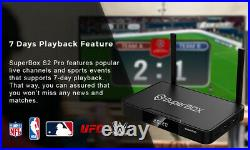 SUPERBOX S2 PRO 6K ANDROID TV Dual Band Wi-Fi 3D With 7 Days Playback