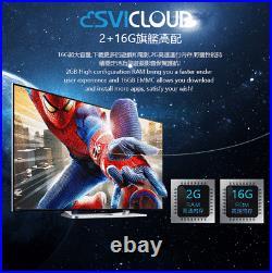 SVI CLOUD 3S TV BOX Support 6K // Fun tv Chinese