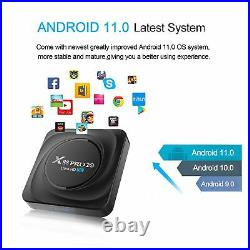 Smart TV BOX X88 PRO 20 RK3566 Android 11.0 8K Dual Wifi BT Media player Play St