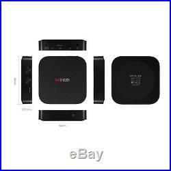 Smart TV Box Mini PC Intel Quad Core Dual OS Win10 /Android 4.4 2GB/32GB Black