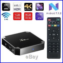 Streaming Watch TV Box X96 Quad Core 8GB Wifi 4k HD Android 7.1 KODI READY 2018