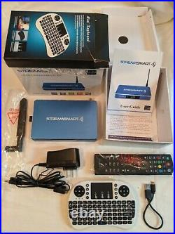 Streamsmart Pro Plus Quad Core Android Tv Streaming Media Player With 4k Uhd H22