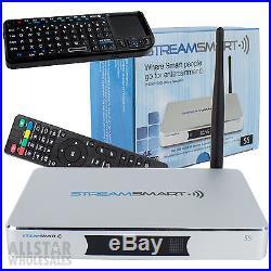 Streamsmart S5 4K Smart TV Box XBMC HDMI Android 4.4 Quad Core FREE Keyboard