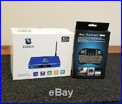 Streamsmart Station ST1 ANDROID TV BOX FREE KEYBOARD, LIVE TECH SUPPORT