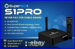 Superbox S1 Pro 6k Android Tv Buy From Superbox USA Buy 2 Get 1 Free
