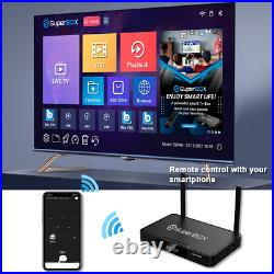 Superbox S2 Pro Media Player, 6K Android 9.0 TV Dual-Band WIFI AUTHORIZE SELLER