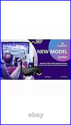 Superbox S2 Pro Media Player, 6K Android 9.0 TV Dual-Band Wi-Fi 2.4G/5G