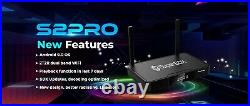 Superbox S2 Pro Media Player, 6K Android 9.0 TV Dual-Band Wi-Fi 2.4G/5G 2021
