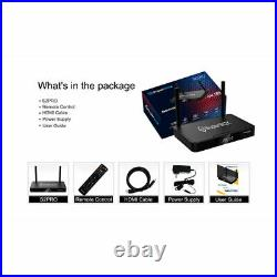 Superbox S2 Pro Media Player, 6K Android 9.0 TV with Wireless Backlit Keyboard