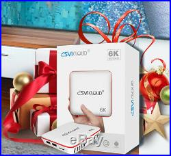 Svicloud Unblock Tech OVERSEAS UBOX6 PRO2 I950 US Licensed OS TV Box