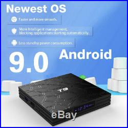 T9 Android 9.0 TV Box 32GB Rockchip RK3318 with MX3 Air Fly Multi MINI Keyboard