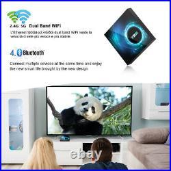 T95 Android 10.0 Smart TV BOX Quad Core 6K Smart WIFI HDMI Media Player Streamer