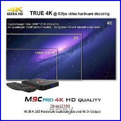 TICTID M9C Pro Android 6.0 Tv Box 4K New Amlogic S905X Chipset-Quad Core 1G/