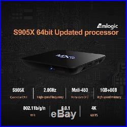 TICTID MXQ PRO Android 6.0 TV Box Quad-core 4K Amlogic S905X Chipset 1G DDR3