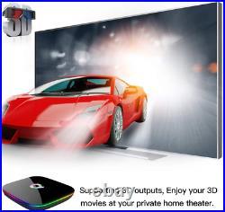 TUREWELL Android 9.0 TV Box, Q Plus Android TV Box Quad Core H6 4GB RAM 64GB ROM