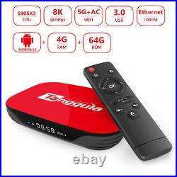 Tanggula X1 Series Android 9.0 TV Box IPTV Device with Deco Keyboard Remote
