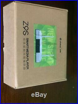 Tv Box HDR 4k iso player Ziddo z9s Mint Conditions