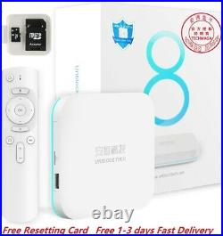 UNBLOCK TECH 2021NEWEST UBOX8 PRO MAX 4+64G Gen8 Android 6K TV