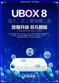 UNBLOCKTECH 2020 UBOX8 PRO MAX 64G Gen8 TVBOX Fast Ship