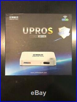 Unblock Tech 2020 7 UBOX7 ProS I9 2g+32g US Gen7 TV Box