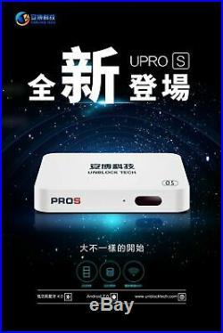 Unblock Tech 20207 UBOX7 UPROS I9 2g+32g OS Gen7 TV Box US Seller