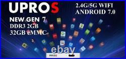 Unblock Tech 7 UBOX7 ProS I9 2g+32g US Gen7 TV Box promo price