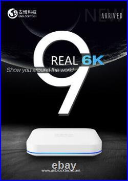 Unblock Tech UBOX9 PRO MAX 4g+64g OS Gen9 NEWEST TV Box