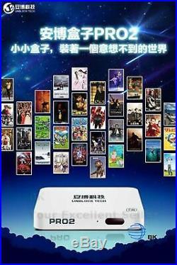 Unblock Tech UPRO2 UBOX6 OS ver I950 Gen6 TV Box UBOX6 USB 3.0 Android 7