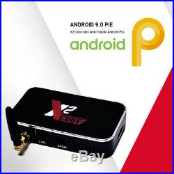 X2 CUBE 2G/16G Amlogic S905X2 Quad Core Android 9.0 TV Box UHD WiFi 4K 3D Media