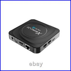 X88 PRO 20 RK3566 Android 11.0 Smart TV Box 8G 128G Wifi 4K H. 265 Media player
