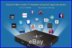 X96 2G/16G KO-DI 16.1 Android 6.0 TV BOX 4K Amlogic S905X Quad Core WIFI Lot