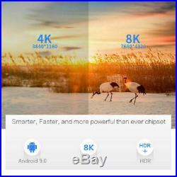 X96 Max Plus S905X3 Android 9.0 HDR Quad Core 2/16G 8K Arabic TV Box sports WiFi